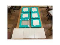 Wickes Wall & Floor Tiles x 54. 330 x 330. Covers 6 sq Metres.