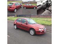 1 LADY OWNER ROVER 25 1.4 FRESH 1 YEARS MOT READY TO GO