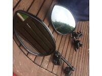 Milenco Aero 3 Mirror - 2 towing mirrors for caravan
