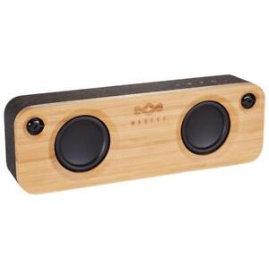 House of Marley Get Together Bluetooth Wireless Speaker with Mic. 8 Hour Battery. USB. AUX. Crisp Clear Audio. Woofer