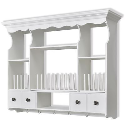 Obstacle Mount Cabinet Cupboard Shelf Kitchen Organizer Unit MDF Pine Wood Pale