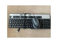 Used mouse and keyboard (USB)