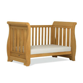 Boori Sleigh Cot / Toddler bed