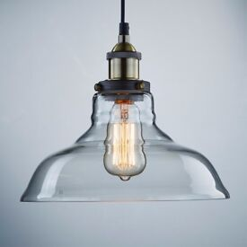 Brand new in box CLAXY Vintage ceiling pendant light