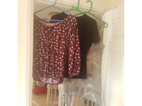 Bundle of size 14 tops suitable for Maternity wear - £10 the lot