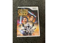 Star Wars the clone wars wii game
