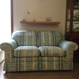 Light green,used,marks and Spencer's sofa