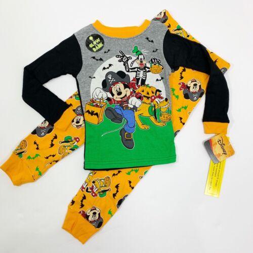 Disney Mickey Mouse Halloween Pajamas Boys, Choose Size, snug fit 2 piece NEW
