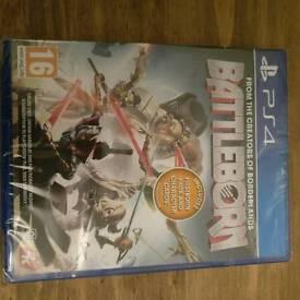 Battleborn PS4 game sealed