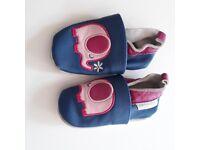Jo Jo Maman Bebe soft toddler shoes 12-18 months