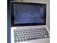 Laptop ASUS VivoBook TOUCHSCREEN - X200E - Intel Pentium, 4GB Ram & 500GB drive, like new - £140