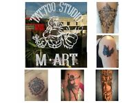 TATTOO STUDIO M.ART BEST PRICE IN THE CITY