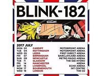 2x Blink 182 Standing Tickets Birmigham Barclaycard Arena Friday 7th July 2017 £70 Each