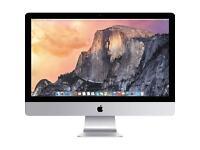 Apple I mac desktop