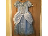 Disney Store Cinderella Dress Age 5-6yrs