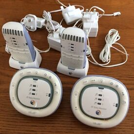 BT Baby Monitor 100 - Two Handsets and Two Base Units - 16 Oct