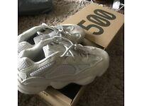 Yeezy 500 uk 8, brand new with tags and double boxed. Pick up only