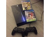 Playstation 4 with Fifa 16 & 17