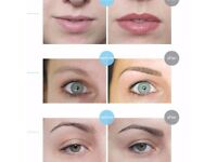 Semi permanent make up models needed