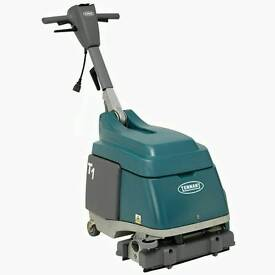 Tennant t1 230v scrubber drier floor cleaning machine free delivery