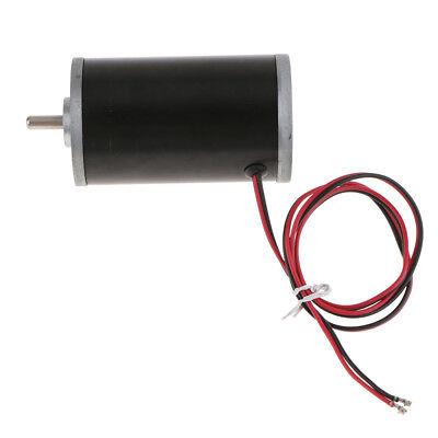 24v 8000rpm High Torque Low Noise Tubular Dc Motor For Electronic Equipment