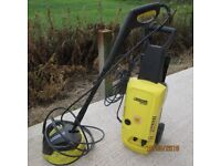 Karcher pressure washer ideal for cleaning patio & pathways