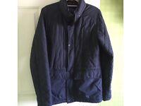 Men's Bench navy jacket size small
