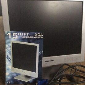 Medion 15 inch TFT colour monitor