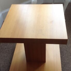 Small table on casters,not needed any more paid a tenner want a fiver for kids bank