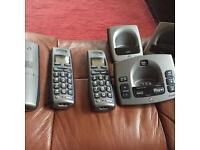 BT trio Cordless telephone / answerphone