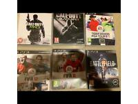 6x PS3 game