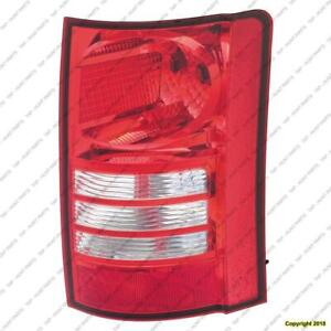 Tail Light Passenger Side High Quality Chrysler Town & Country 2008-2010