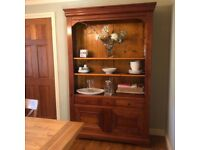 Cherry wood French Dresser/Bookcase