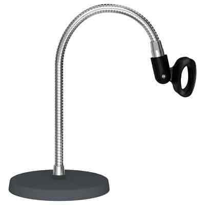 vidaXL Soporte de Micrófono Flexible de Escritorio Base Altavoz Mesa Mostrador