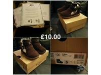 Genuine Toddler UGGs with Box and Authenticity certificates