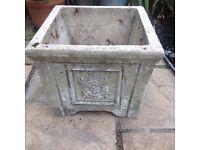 Free concrete planter