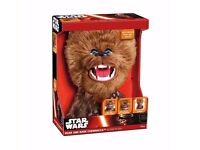 Star Wars Plush Roar And Rage Chewbacca