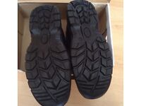 SIZE 10 STEEL TOE WORK BOOTS NEW IN BOX