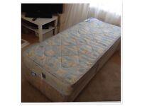 Single Junior Divan Bed with matress