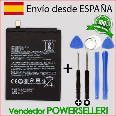 Bateria para XIAOMI MI A2 / 6X   BN36 + kit herramientas...