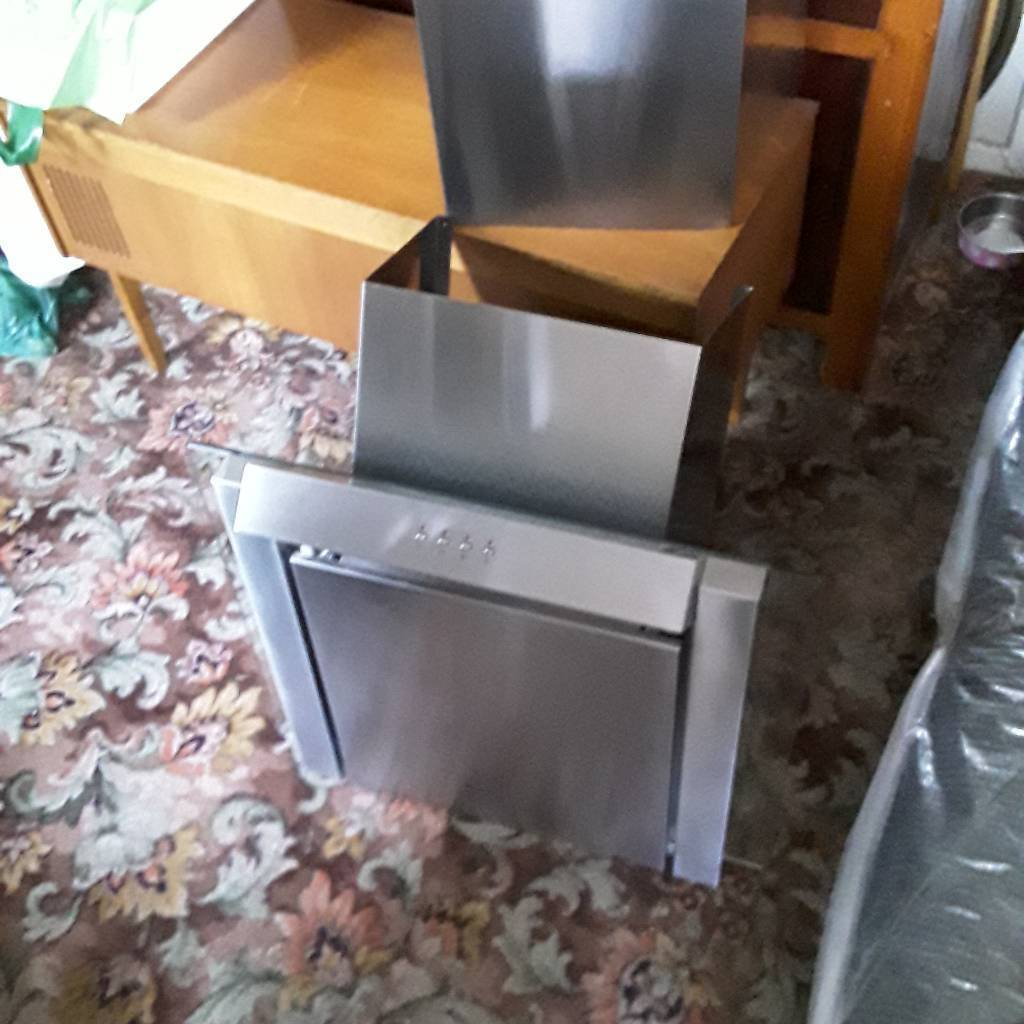 Stainless cooker hood
