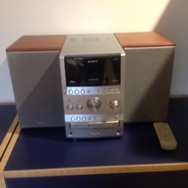 Sony multi disc midi hi-fi