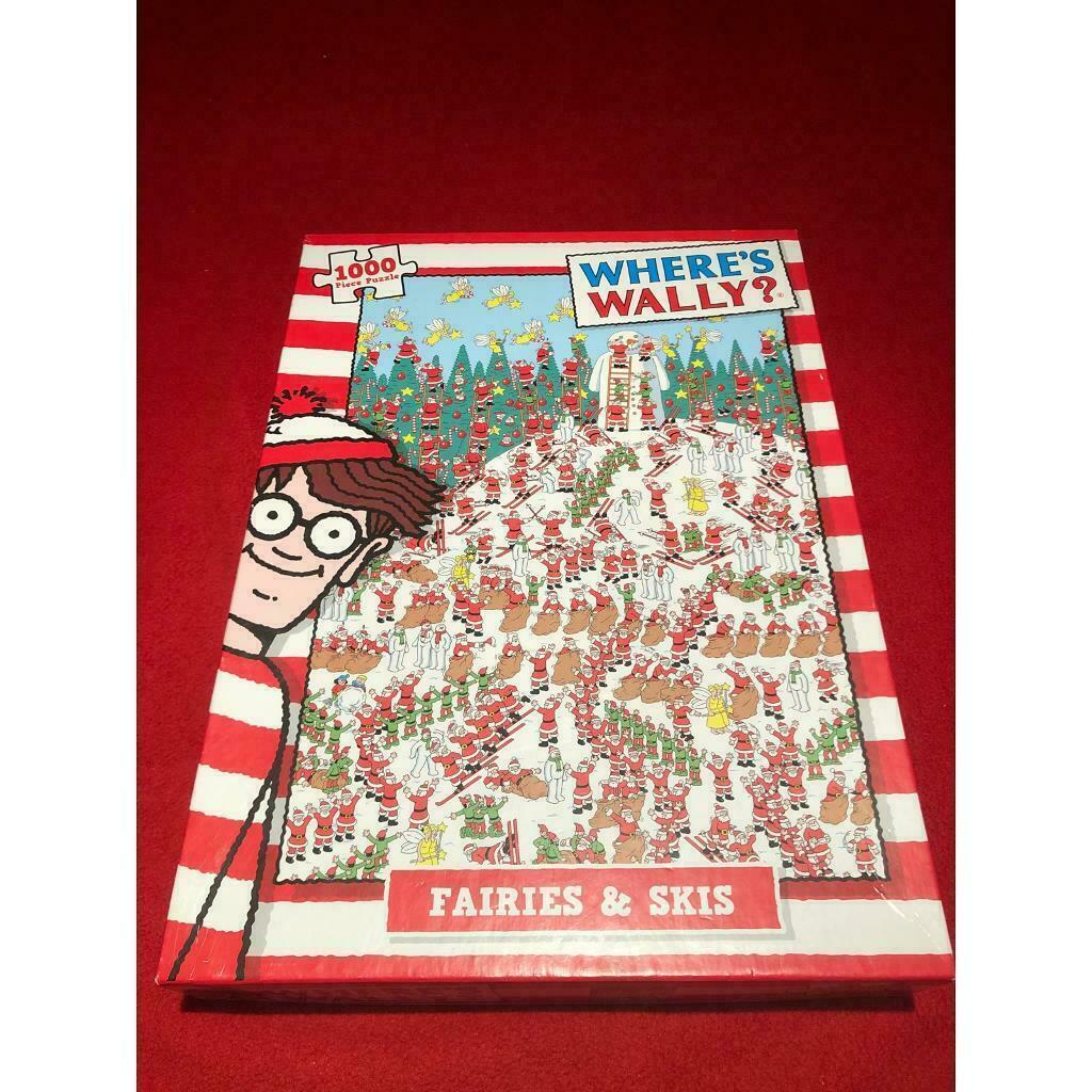 WHERE'S WALLY? SKI Slopes Jigsaw Puzzle