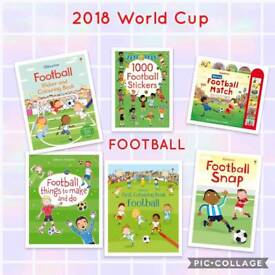 Variety of Football Book Bundles