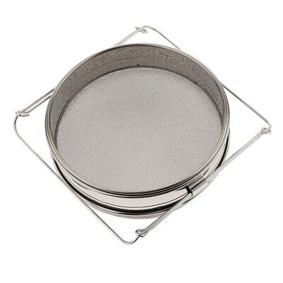 Stainless Beekeeping Double Honey Strainer Filter Apiary Honey Extracting