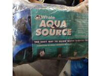 Whale Aqua Source Mains Water Hook Up - Blue