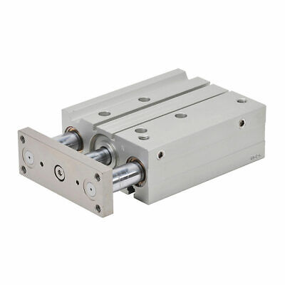 Nitra Pneumatic Air Cylinder Dual Guide Rod 40mm Bore 100mm Stroke Double Ac