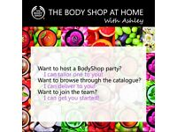 The Body Shop at Home with Ashley