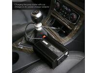 Brand new 300w 12v DC to AC power inverter for caravan,car camper etc twin USB