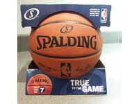Basketball - Spalding NBA Official Game Ball - Leather Game Ball Size 7